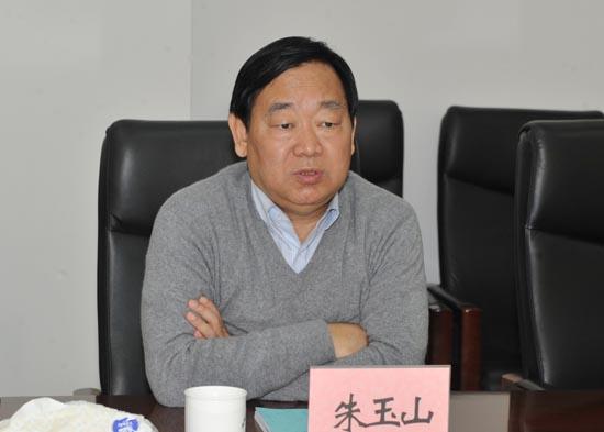 图三:省教育厅党组成员、省招办主任朱玉山参加座谈会.JPG
