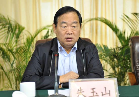 图二:省教育厅党组成员、省招办主任朱玉山出席会议并讲话.jpg