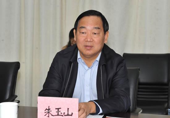 图二:省教育厅党组成员、省招办主任朱玉山出席座谈会.JPG