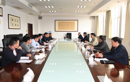 湖南省教育考试院副院长潘送球一行来豫调研交流.JPG